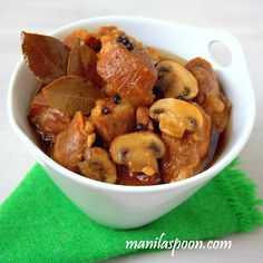 If there is a dish thatdefines whatFilipino cuisine is all about- it's adobo, the unofficial,national dish of the Philippine island...