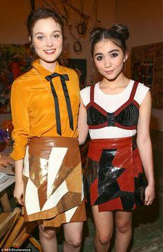 Twinning:Australian actress Bella Heathcote and 14-year-old Girl Meets World star Rowan B...