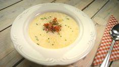 V druhém díle kulinární show se Karolína, domácí kuchařka, podělila o rodinný recept n... Cheeseburger Chowder, Fresh, Soups, Soup
