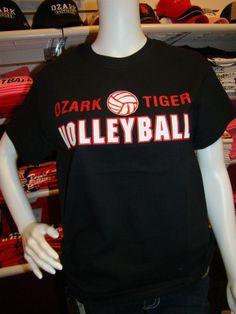 Ozark tigers volleyball