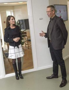 Princess Marie opened the first home for elderly autists, which includes 4 apartments designed for those seniors who need support throughout their lives October 13, 2014