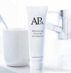 Nu Skin AP 24 Anti Plaque Fluoride Toothpaste Fresh New Nu Skin, Ap 24 Whitening Toothpaste, Best Teeth Whitening, Nuskin Toothpaste, Glycerin, White Teeth, Dry Brushing, Vanilla, Bad Breath