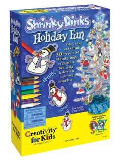 Shrinky Dinks Holiday Fun