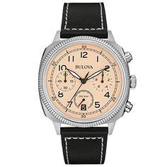 9461b3ec2468 Descubre Bulova Militar - Reloj UHF para hombre con esfera analógica