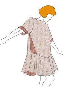 Ready to sew - robe Jeanette - patron PDF : 8,5€