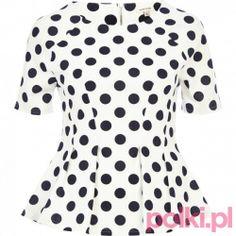 Bluzka w kropki, River Island #polkipl #moda #fashion #trendy
