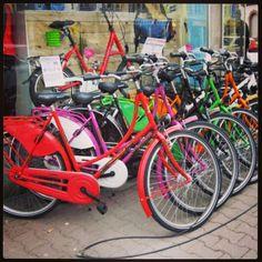 Pretty bikes in Bockenheim.