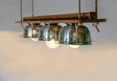 6 DIY Φωτιστικά από παλιά αντικείμενα που θα εντυπωσιάσουν! | Douleutaras.gr Blog