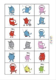 132 Meilleures Images Du Tableau Emotions Colors Monsters Et