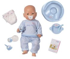 Zapf Creation Baby Born Magic Eyes Boy Doll- White (Barcode EAN = 4001167803554). http://www.comparestoreprices.co.uk/dolls/zapf-creation-baby-born-magic-eyes-boy-doll-white.asp
