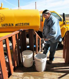 For Many Navajo, A Visit From The 'Water Lady' Is... | Native American News