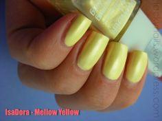 IsaDora Mellow Yellow (653), worn 2x, EUR 2