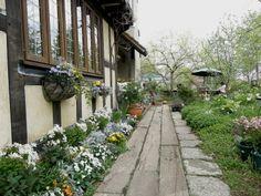 イングリッシュ・ガーデンのあるカフェ - ミエルの 薔薇色の記憶 ☆ ☆ ☆