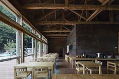 雄勝 Moriumius(モリウミアス)| ondesign Japan Design, Conference Room, Architecture, Interior, Table, House, Furniture, Home Decor, Ideas