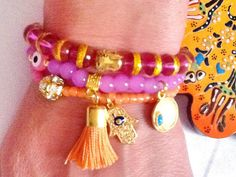 SALETAJ  MAHAL Bracelet  Bollywood inspired bohemian by Nezihe1