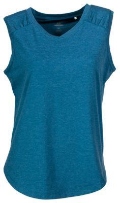 Ascend Ruched Tank Top for Ladies - Blue Sapphire - 2XL