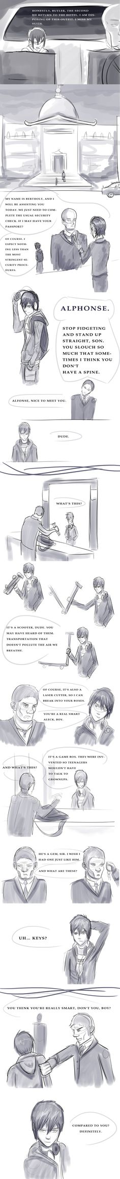 Artemis Fowl Book Four Sketchdump by Xayti.deviantart.com on @DeviantArt