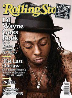 Lil Wayne // April 19, 2009 Rolling Stone Magazine - GossipOnThis.com