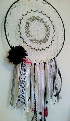 Łapacz snów / Dream Catcher  #lapaczsnow #dreamcatcher #crocheting #handmade #diy #pink #rękodzieło #szydełko #4kidsroom #4home #decorating #hangingdecor #scandi #scandinavianstyle #withlove #passion #impresje #dreamcatcher #dream #łapacz #gooddreams #forkidsroom #decor #home #handmade #diy #szydełkowanie_po_nocach #szydło #rękodzieło #decorhanging #decorate #sweet_home #crocheting #zebra #black&white