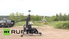 Russia: Bond, eat your heart out! See the ultra-light gyrocopter revolut...
