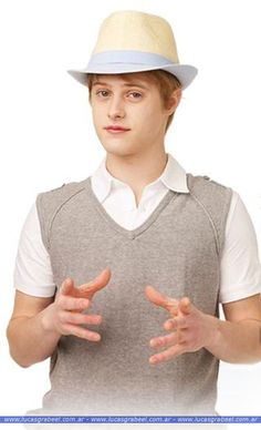 Ryan Evans by Lucas Grabeel in High School Musical, 2006. I miss all the hats