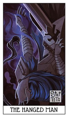 A Tarot Deck inspired on Dark Souls lore. I will be updating this project every 1 to 2 weeks.