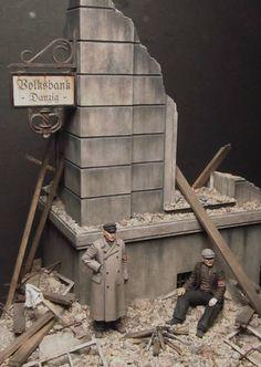 """Das Ende"" - Gdańsk, Poland 1/35 Scale Model Diorama"
