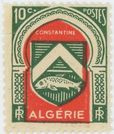 stamp Algeria
