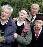 """Last of the Summer Wine (BBC) """"Toby, Alvin, Hobbo, and Entwhistle"""", (Trevor… Top Tv Shows, Best Tv Shows, Favorite Tv Shows, British Tv Comedies, British Comedy, Great Comedies, Classic Comedies, Comedy Actors, Actors & Actresses"""
