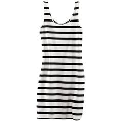 H&M Dress ($5.68) ❤ liked on Polyvore featuring dresses, tops, vestidos, h&m, women, h&m dresses and white dress