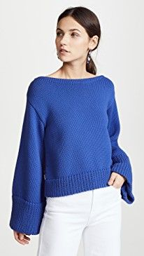 New Milly Cropped Sweater online. Find the perfect Ulla Johnson Clothing from top store. Sku qpks83984iqjj80904