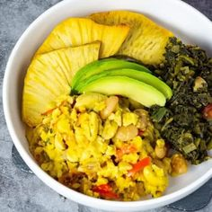 Ackee and butter beans is the perfect vegan recipe combo, full of flavor and a great alternative for classic Jamaican ackee and saltfish. Jamaican Recipes, Jamaican Dishes, Gluten Free Recipes, Healthy Recipes, Crockpot Recipes, Canned Butter, Tofu Curry, Sprouts With Bacon, Kitchens