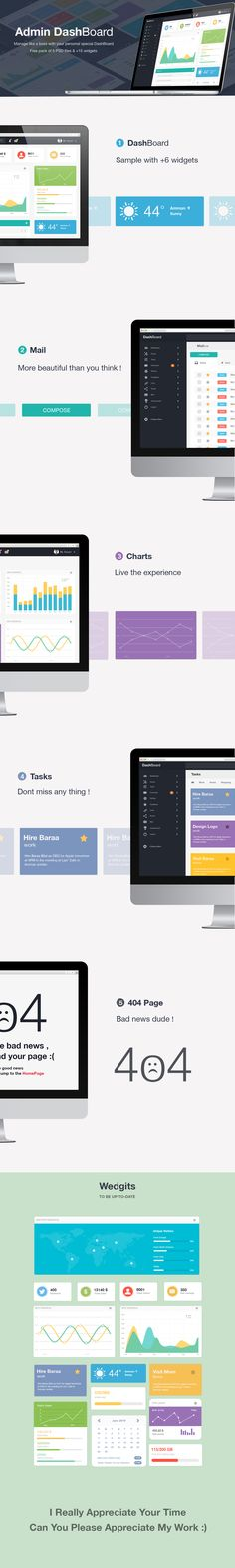 This freebie is a Free Admin Dashboard UI Kit PSD that you can use for site administrator inteface. This is Admin DashBoard Free UI PSD created by Baraa Bilal. Dashboard Interface, Web Dashboard, Analytics Dashboard, Dashboard Template, Dashboard Design, User Interface Design, Mobile Web Design, App Design, Corporate Design