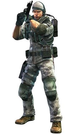 Resident Evil: Revelations - Chris Redfield