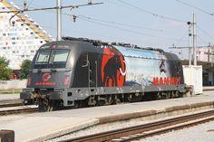 Slowenische Staatsbahn  Mammut