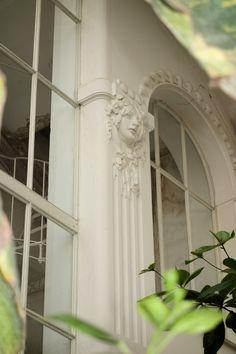 Jugendstil details inside the Vienna Butterfly House Butterfly House, Vienna, Inspiration, Biblical Inspiration, Inhalation, Motivation