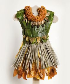 Dresses+Made+Out+of+Flowers | Would you wear a dress that could also be used as compost?