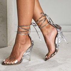 Lace Up Gladiator Sandals, Lace Up Heels, Dress And Heels, Wedge Sandals, Wedge Shoes, Super High Heels, Womens Summer Shoes, Casual Heels, Party Shoes