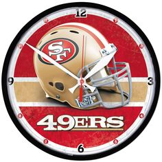 San Francisco 49ers Round Wall Clock