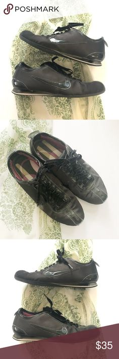 best service a8319 31952 Nike Shox Rivalry 317011 Black Satin Athletic Shoe Velvet like ribbon shoe  laces. Smooth satin