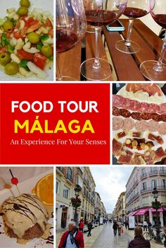 The Devour Málaga food tour will not only tickle your taste buds and fill your bellies, it will also leave you with happy hearts and rich minds. Spain And Portugal, Spanish Food, Spain Travel, Malaga, Cooking Classes, European Travel, Travel Inspiration, Food Inspiration, Day Trips