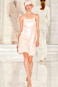 Spring 2012, Pret-a-Porter. Ralph Lauren, modeled by Olga Sherer.