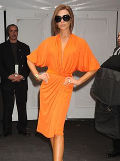 Victoria Beckham at Mercedes Benz Fashion Week, 8 February