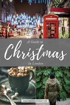 Christmas in London - things to do in London at Christmas for all the festive feels #london #Europe #christmas