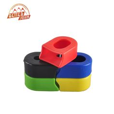 Pair Mountain Bikes MTB Road Bicycle Cycling Crankset Crank Rubber Protective Sleeve Cover Parts 5 Color