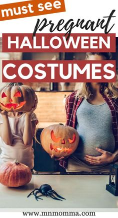 Find the BEST Halloween costume ideas for pregnant women! Includes creative DIY ways to show-off your belly bump from mummy and pumpkins to easy at home costumes for pregnant moms. Click to see maternity costumes!Are you looking for a fun way to celebrate Halloween during your pregnancy? Do the pregnant zombie mom costumes freak you out? Look no further these FUN pregnant Halloween costumes! #halloween #pregnancyhalloween #pregnancycostume #pregnancy #october #costumes Pregnancy Costumes, Pregnant Halloween Costumes, Cute Costumes, Family Costumes, Pregnancy Tips, Costume Ideas, Costume Halloween, Maternity Costumes, Zombie Costumes