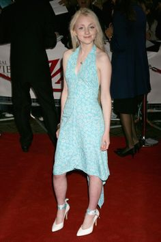 Style Profile: Evanna Lynch at the National Movie Awards in London, June 2008