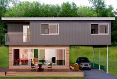 Shipping Container House.