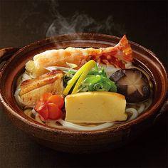 料亭〈大和屋三玄〉の味を手軽に個食鍋で。【高島屋限定】料亭の鍋焼き・しっぽくうどん詰合せ