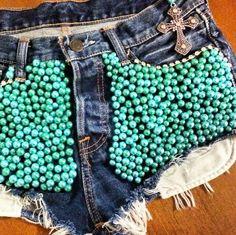 Short customizado a lá kaborges #joia #lindo #josii